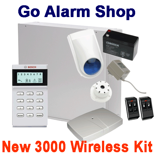 bosch wireless 3000 alarm system build your own security kit. Black Bedroom Furniture Sets. Home Design Ideas