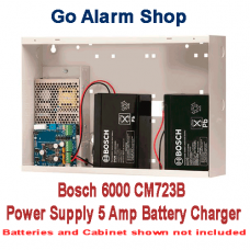 Bosch Security 6000 Alarm CM723B Power Supply 5 Amp Battery Charger