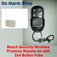 Bosch Security Wireless Premium Remote kit with 2x4 Button Fobs