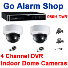 Bosch Security Residential CCTV 960H 4 channel DVR Indoor Dome kit