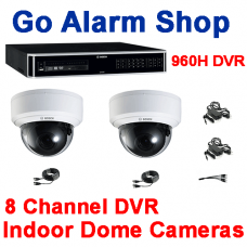 Bosch Security Office Cameras 960H 8 channel DVR Indoor Dome kit