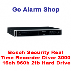 Bosch Security Real Time Recorder Divar 3000 16ch 960h 2tb Hard Drive