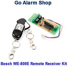 Bosch Remote kit for Solution 844 Alarm Panel WE800ev2 2x4 Button Fob