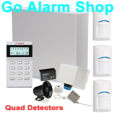 Bosch Alarm System K880-3QUAD Solution 880 Ultima Kit with 3 x Quad Detectors