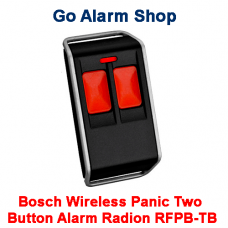Bosch Security Wireless Panic Two Button Alarm Radion RFPB-TB