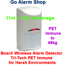 Bosch RFDL-11+A366 Wireless Harsh Environment Detector Tri-Tech PET Immune