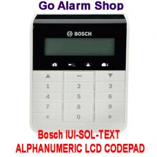 Bosch 2000/3000 Alarm Keypad IUI-SOL-TEXT ALPHANUMERIC LCD CODEPAD
