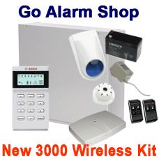 Bosch Solution 3000 Wireless Alarm Kit
