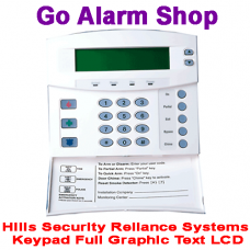 Hills S4145 Security Reliance Keypad Full Graphic Text LCD