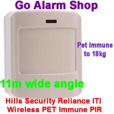 Hills S6663 Reliance ITI Wireless PET Immune PIR