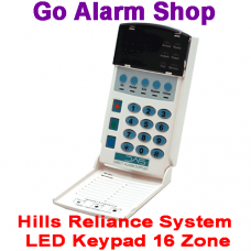 Hills Security Reliance Alarm System S4157 LED Keypad 16 Zone