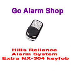 Hills S1896A Security Reliance Alarm System Extra NX-304 keyfob