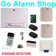 Hills Wireless Alarm Package Reliance R12 ITI Security Alarms Kit