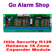 Hills Security S4387 R128 Reliance NX-126E 16 Zone Expander Module