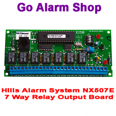 Hills Alarm System NX507E 7 Way Relay Output Board