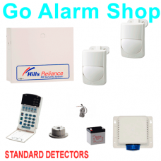 Hills S7426K House Alarms Reliance R4/NX4 Alarm Kit with Standard PIR detectors