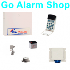 Hills S8204K House Alarm System Reliance R4 Alarms Panel Security Kit