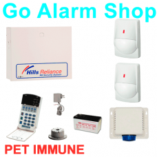 Hills S7941K Business Alarms R8 Reliance Alarm Kit PET Immune PIRs