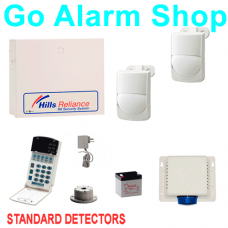 Hills S7427K Commercial Alarm Reliance R8 Alarms Kit Standard Security Sensors