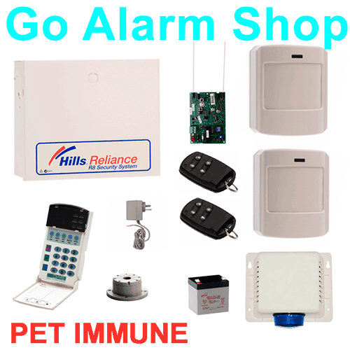 Wireless Home Alarms Reliance Hills R8 Iti Security Pet