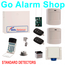 Hills Wireless Burglar Alarm Reliance R8 ITI Security Alarms Kit