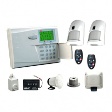 NESS 106-034 Security Alarm R16 Wireless kit 2 x radio pirs radio keys