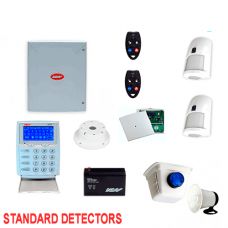 NESS D16X Wireless Secuity System kit with KPX LCD keypad 2 x LUX detectors