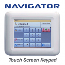 NESS Security 106-100 Navigator LCD touch screen alarm keypad