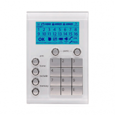 NESS Security 106-108 Saturn alarm keypad