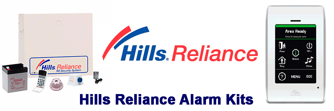 Hills Alarm Systems Kits for Sale