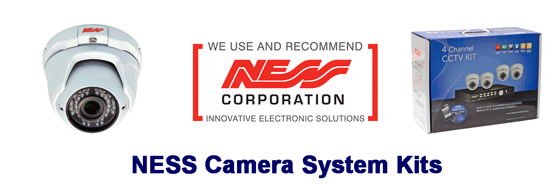 NESS Security Camera kits for sale